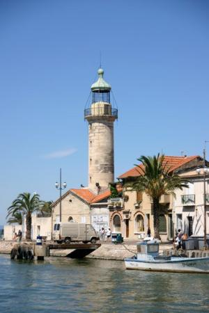 Le Grau-du-Roi, France : Le phare