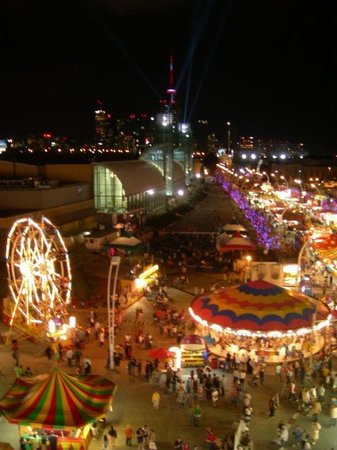 Exhibition Place: On the ferris wheel....