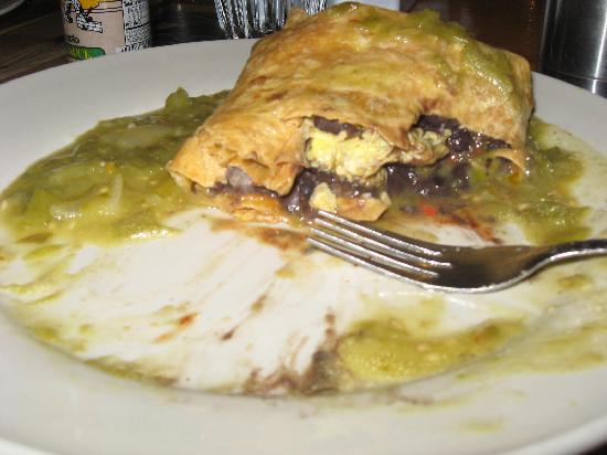 Absolute Bakery & Cafe: Breakfast Burrito- it was HUGE!