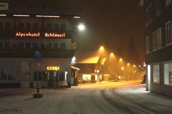 Alpenhotel Schlüssel: Andermatt, Suiza. 16-10-2009.