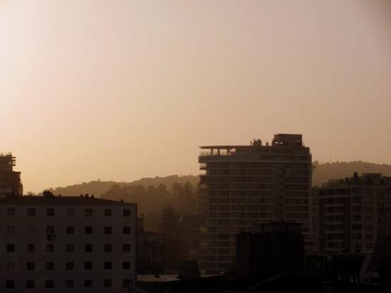Cerro castillo vi a del mar amanecer desde la habitaci n for Hotel cerro castillo