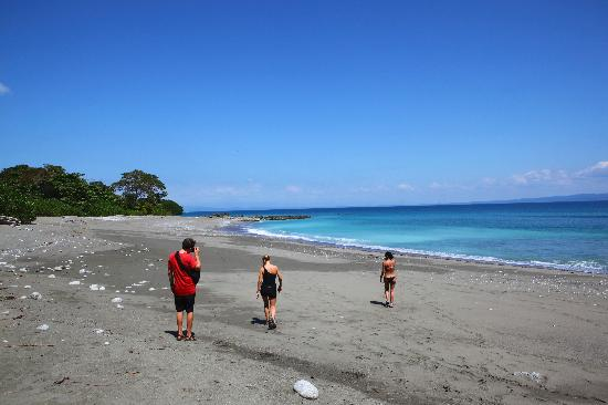 Osa Clandestina: The AMAZING beaches.