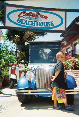 Catalina Boat House: JR HAD SOOO MUCH FUN HERE!