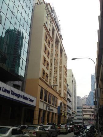 Prescott Hotel Kuala Lumpur Medan Tuanku View Of