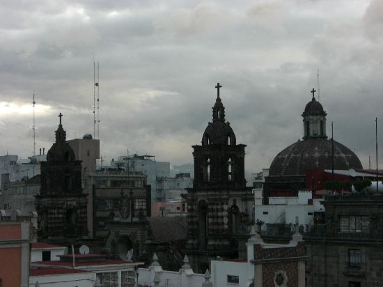 Hotel Juarez: View from the roof (I'm not sure we were supposed to be up there!)