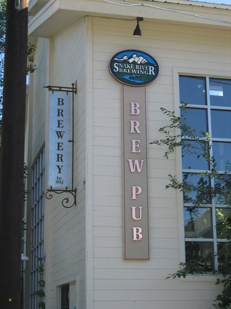 Snake River Brewing: Building