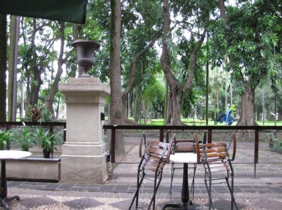 Sao Paulo, SP: park at the museum for some cafe!