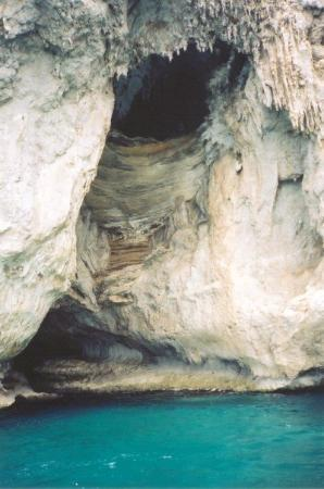 Blue Grotto: More of Capri, Italy.