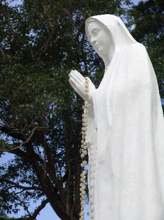 The Shrine of Our Lady of Tapao: The Marian statue on Mount Tapao