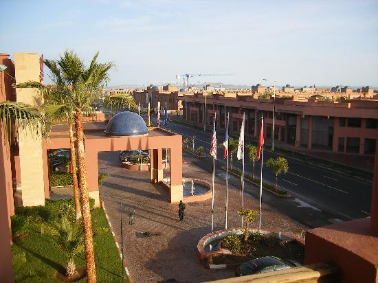 Palm Plaza Marrakech Hotel & Spa: View from room