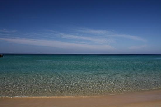 มารีน่า ภูเก็ต รีสอร์ท: カロンビーチから海を望む