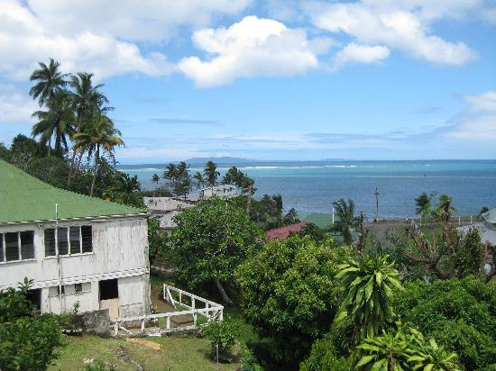 Levuka, Fiyi: View from the porch