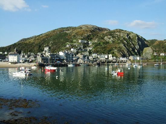 Barmouth, UK: harbour in summer