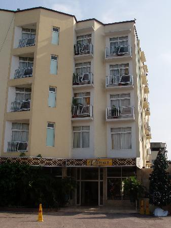 Hotel Venus: Street side