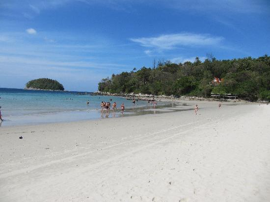 Fantasy Hill Bungalows: Kata Beach looking North