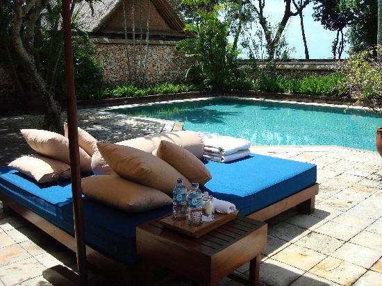 The Oberoi Bali: Private pool