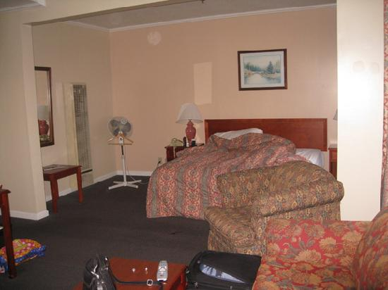 Alpha Inn & Suites: view of the sleeping area