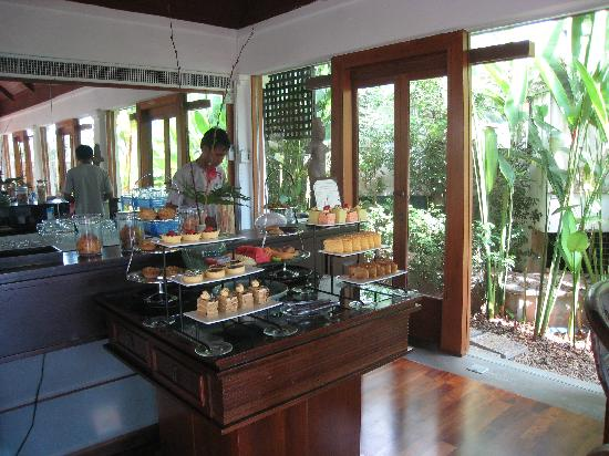 Nakamanda Resort & Spa: Afternoon Tea in the Living Room