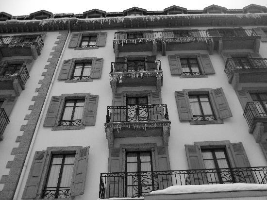 Hotel Richemond: Front view of the hotel