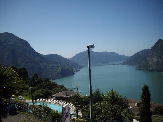 Hotel Colibri: Vue depuis notre balcon