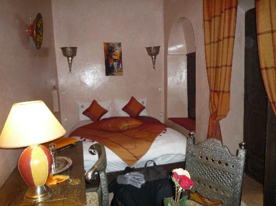 Riad d'Airain Marrakech: côté confort : une chambre