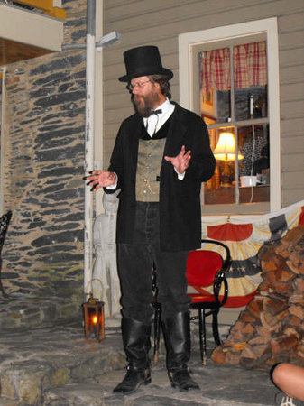 Harpers Ferry, Virginia Occidental: Rick Garland - Living Historian, Tour Guide, Vocalist, Pianist
