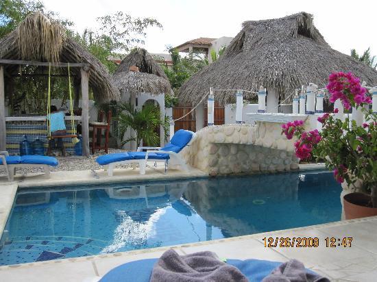 Quinta Lili: the pool