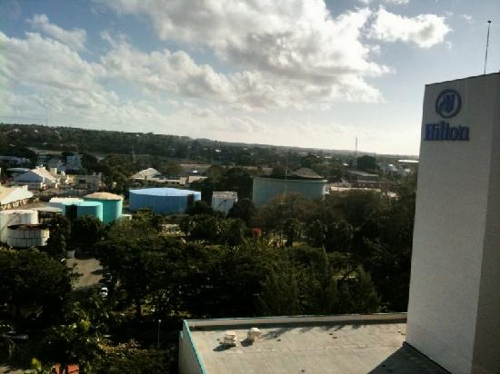 Hilton Barbados Resort: Decommissioned Oil Refinery and Cemetary Next Door