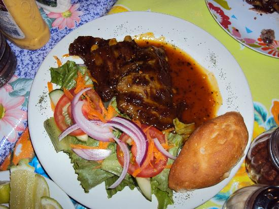 Cafe Roma: rib dinner