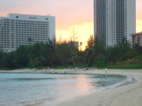 Pacific Star Resort & Spa: sunset