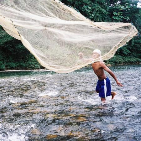 Ecuador - Tena - catch!