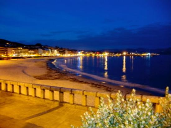 Sanxenxo, İspanya: walk after dinner