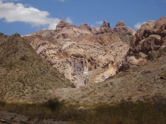 El cerro de 7 colores, Uspallata