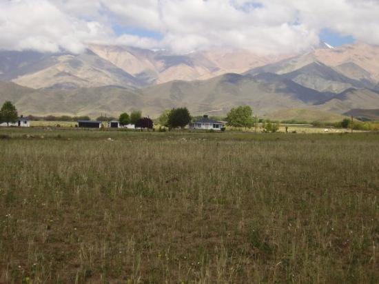 Tupungato, Argentinië: Vista al cordon de plata, miren que casita