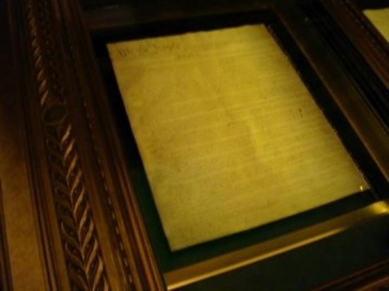 The National Archives Museum : The National Archives - Preamble to the United States Constitution