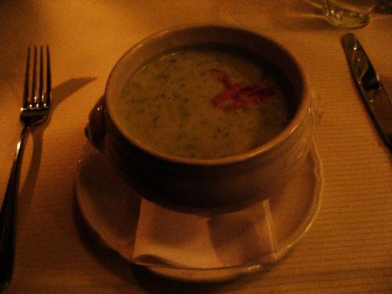 Boerderij Langerlust: たっぷりのブロッコリーのクリームスープ