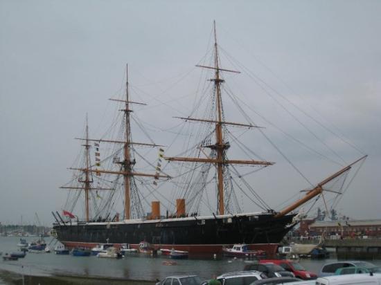 HMS Warrior 1860: Portsmouthista HMS Warrior