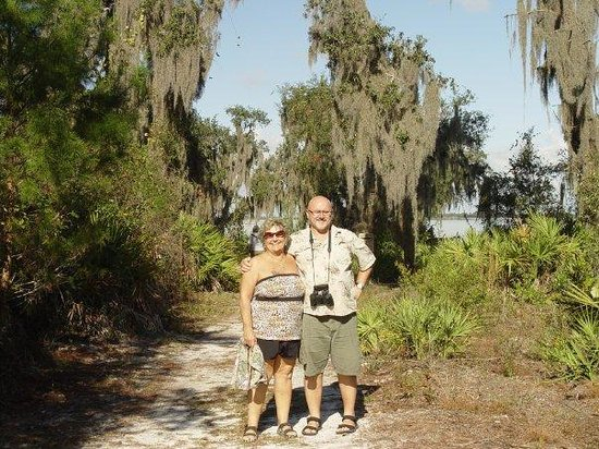 Englewood, FL: We went to a couple nature parks with Helga