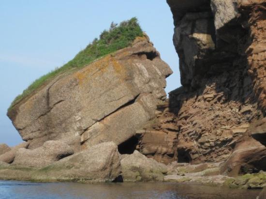Gaspe, Kanada: Au retour vers Gaspé! :)