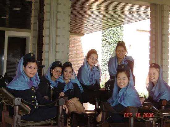 Crowne Plaza Kathmandu-Soaltee: Kathmandu, Nepal hotel lobby...