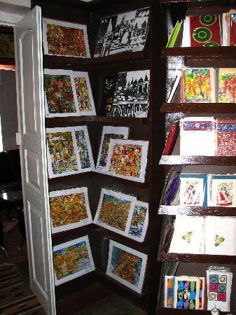Open Hand Shop & Cafe: Greeting cards, unique designs