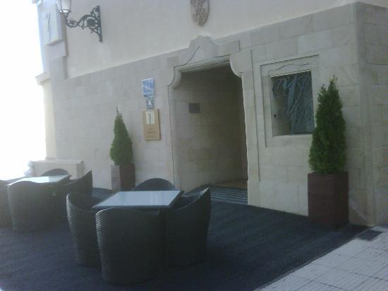 Villa Venecia Hotel Boutique: Entreada al hotel