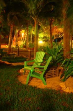 Island Bay Resort: Night view, Island Bay grounds