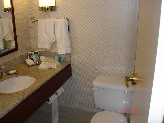 Hilton Vancouver Airport: bath room