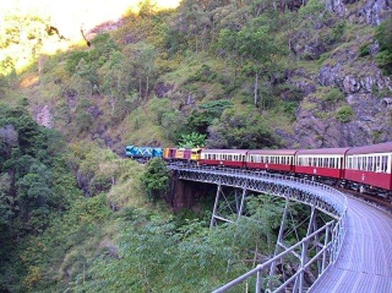 World Heritage Kuranda Tour-AAO: 高原鉄道
