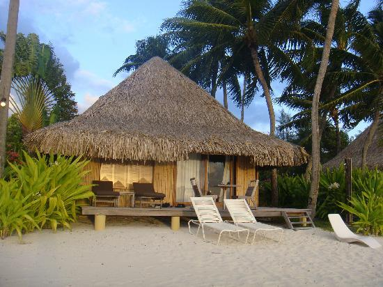 InterContinental Bora Bora Le Moana Resort: Bungalow en la playa