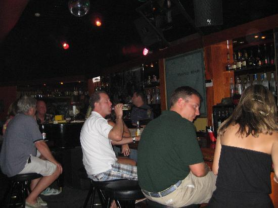 Sopranos Piano Bar: just hanging out