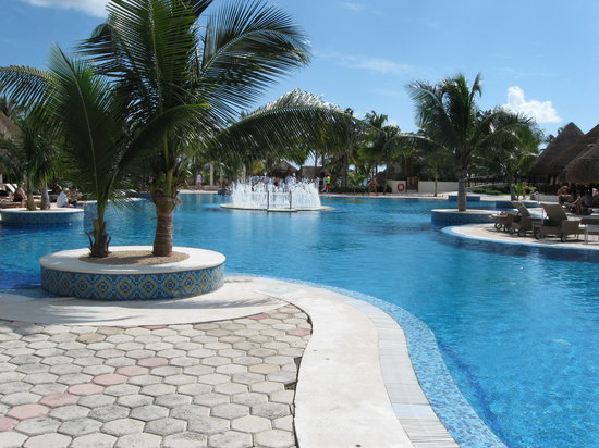 Xpu-Ha, Mexico: La piscine....de toute beautée