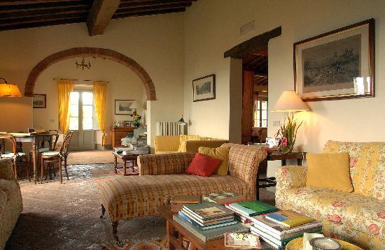 il soggiorno - Bild von La Locanda, Radda in Chianti - TripAdvisor