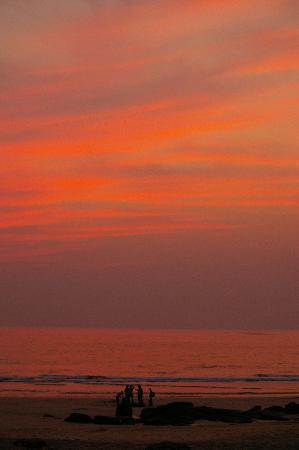 Ganpatipule, India: sunset